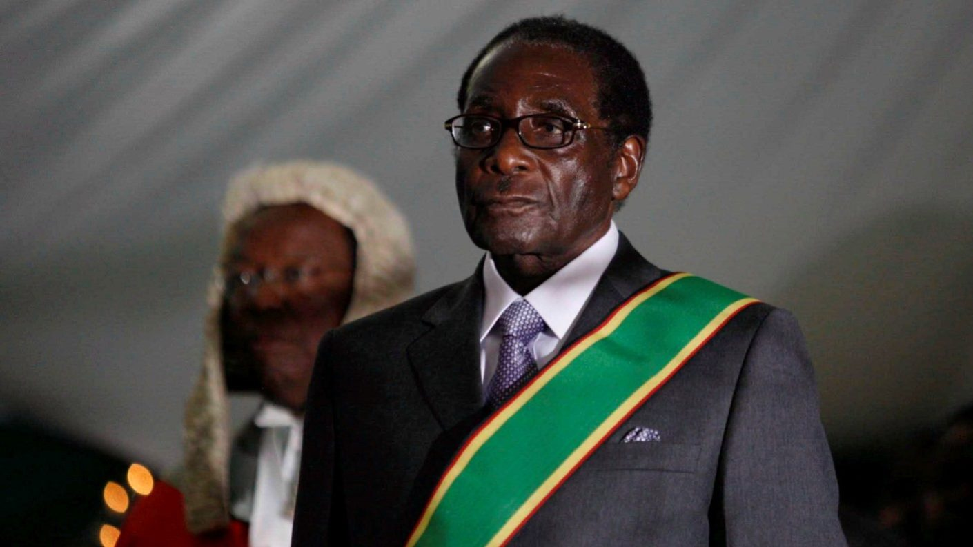 Falleció Robert Mugabe a los 95 años