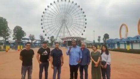 García Carneiro viaja a China para comprar una rueda de la fortuna