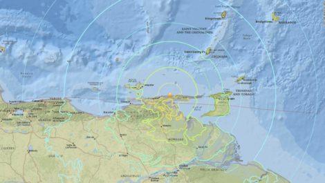 Sismo de magnitud 3,0 se registró en Carúpano y Río Caribe