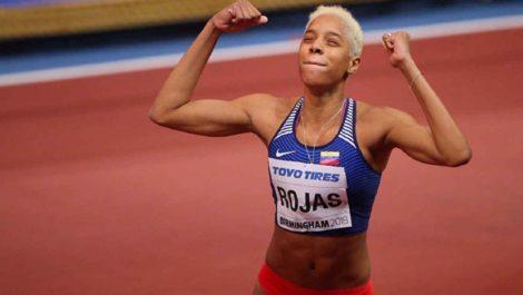 Yulimar Rojas recibió en Madrid su premio como mejor atleta del año