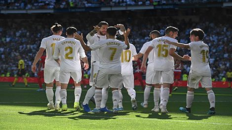 Real Madrid sigue invicto y líder en La Liga