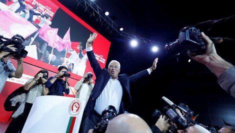 Portugal: Socialista Antonio Costa gana elecciones parlamentarias sin mayoría absoluta