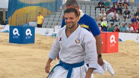 Antonio Díaz conquista primera medalla para Venezuela en Juegos Mundiales de Playa