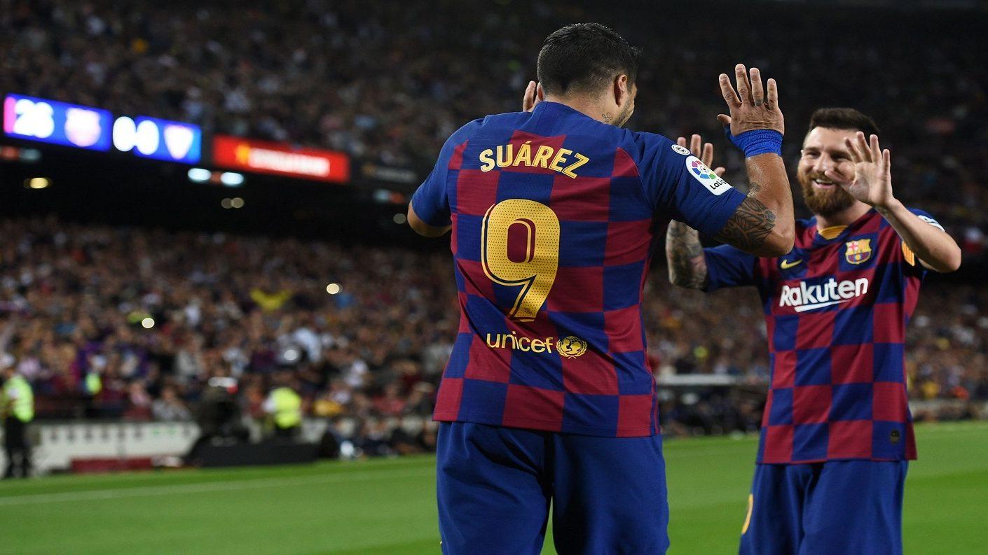 El Barcelona goleó al Sevilla