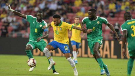 Brasil no pasó del empate ante Senegal
