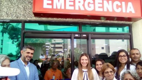 Gobierno cierra quirófano inaugurado por Fabiana Rosales
