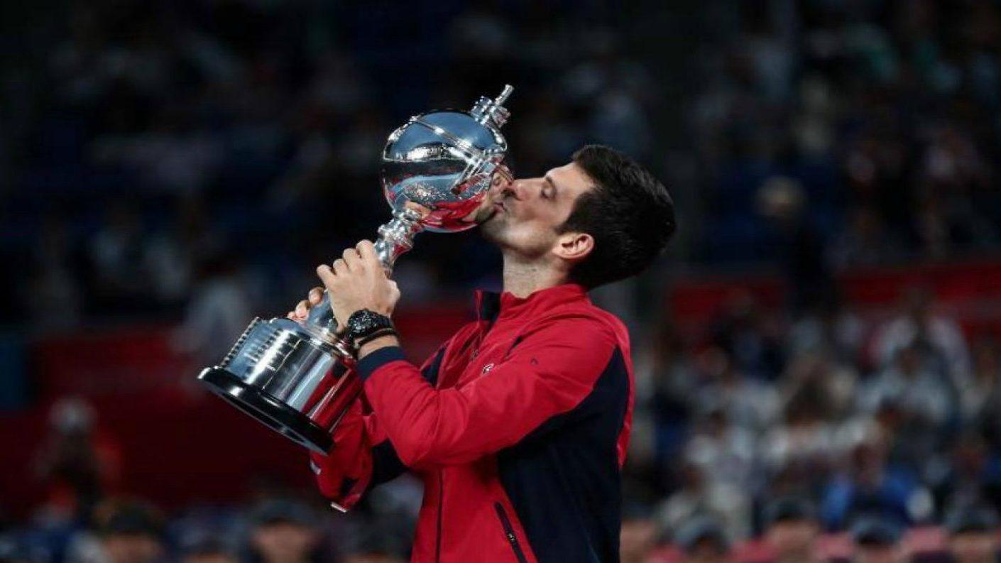 Djokovic gana el Abierto de Tokio