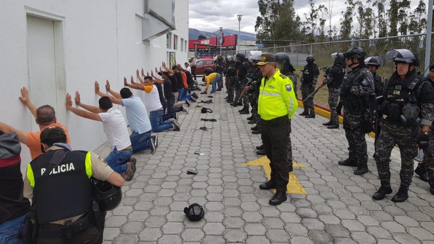 Detienen a 17 venezolanos presuntamente vinculados a protestas contra Moreno