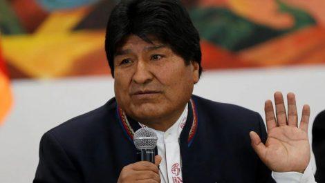 Evo Morales asegura que México le brindó asilo «para cuidar su vida»