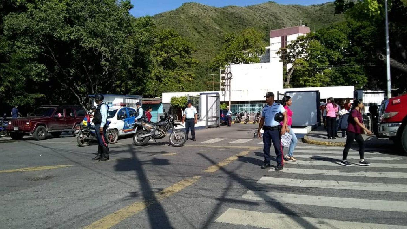 Hospital de Maracay sufrió un incendio