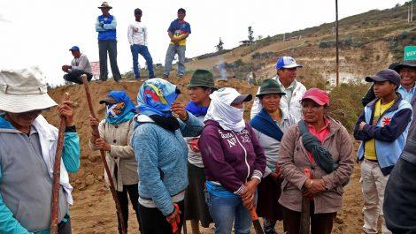 Confederación indígena de Ecuador rechazó diálogo con «gobierno asesino» de Moreno