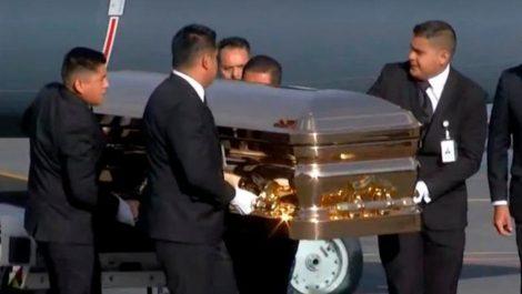 Mexicanos dieron su último adiós a José José