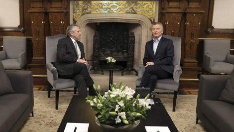 Macri se reunió con Fernández para acordar «transición pacífica»