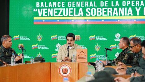 Maduro mantiene «alerta naranja» en frontera con Colombia