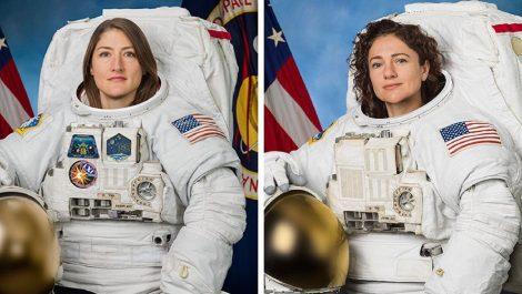 Dos astronautas de la NASA darán primera caminata espacial de solo mujeres