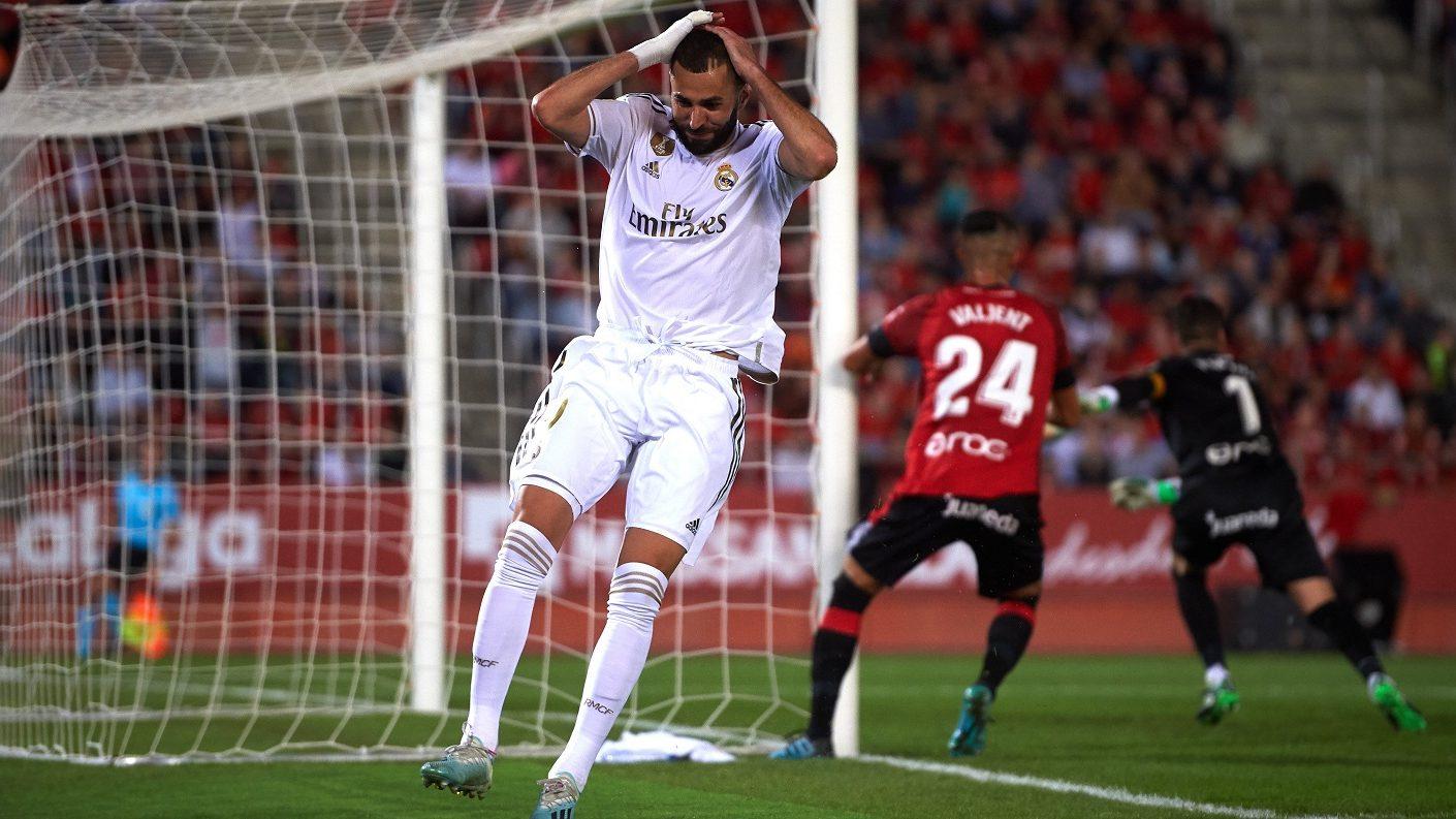 Real Madrid pierde liderato de La Liga tras caer ante el Mallorca