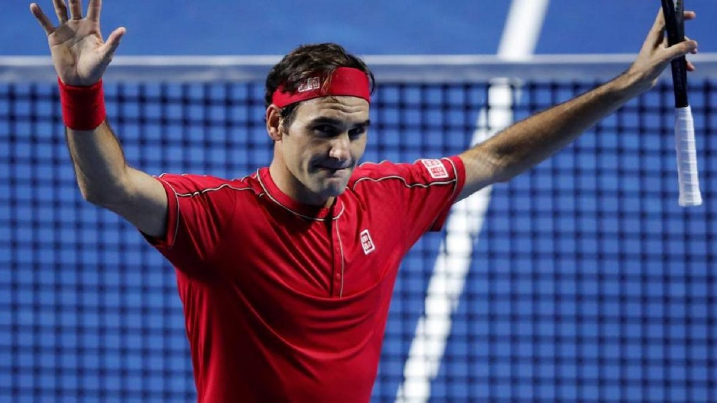 Roger Federer dio otro paso en busca de un récord en el circuito ATP