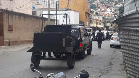 Enfrentamiento en El Cementerio dejó un PoliCaracas herido