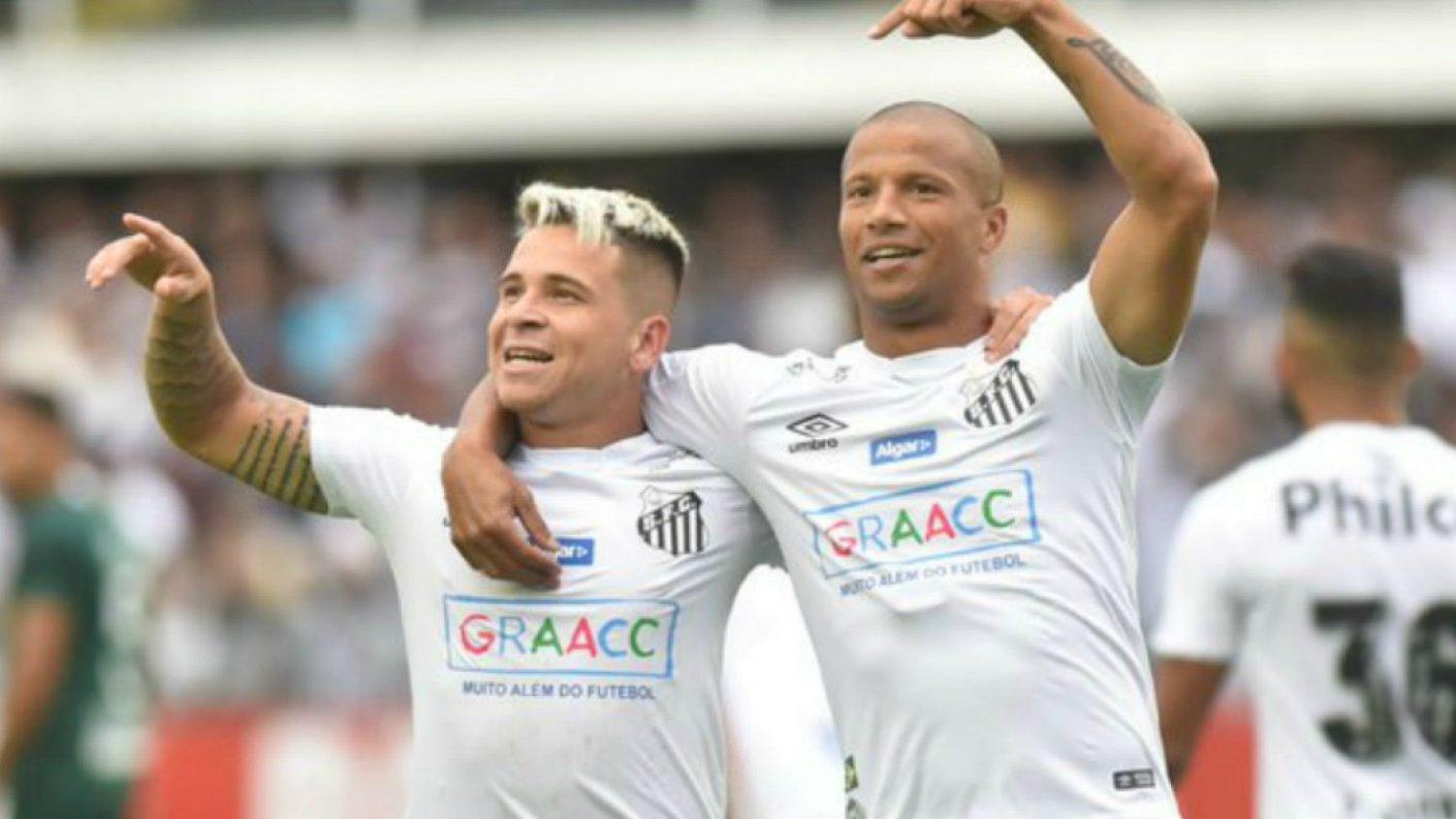 Soteldo mejor jugador del Santos en Brasil