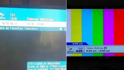 Operadora ecuatoriana devolvió señal de Telesur