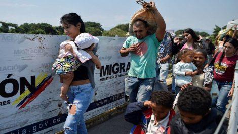Venezolanos-migrantes Colombia