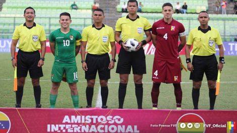 La Vinotinto Sub 23 igualó 0-0 con Bolivia en el Olímpico