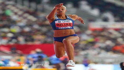 Yulimar Rojas saltó hasta la final en Doha