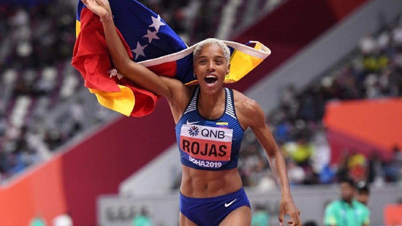 ¡Bicampeona! Yulimar Rojas revalida su título de salto triple en Doha