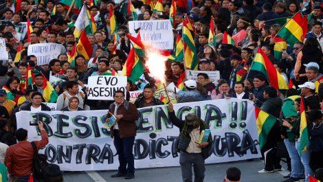 Evo Morales denunció que Bolivia está en riesgo por golpe de estado