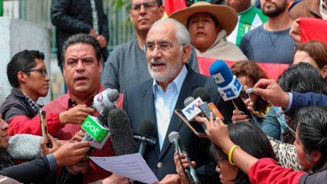 Mesa exige que Evo Morales dimita y no participe en nuevas elecciones