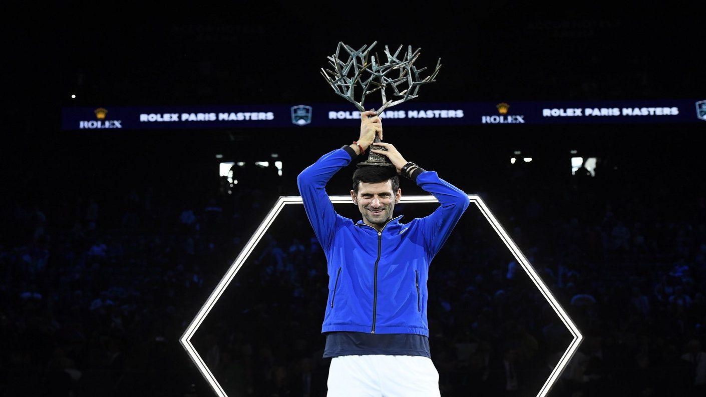 Djokovic alcanzó su quinto título del Masters 1000 de París