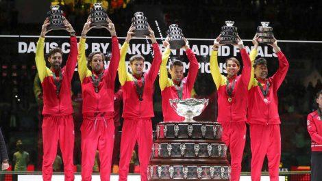 España es el campeón de la Copa Davis