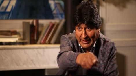 Evo Morales insiste desde Argentina en que no hubo fraude en Bolivia