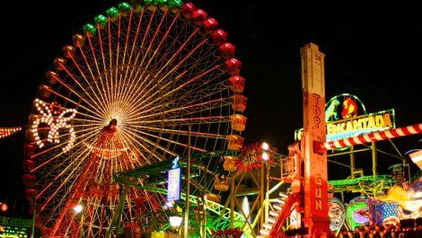 Visitantes de Feria de México quedaron colgados a 45 metros del suelo (+VÍDEO)