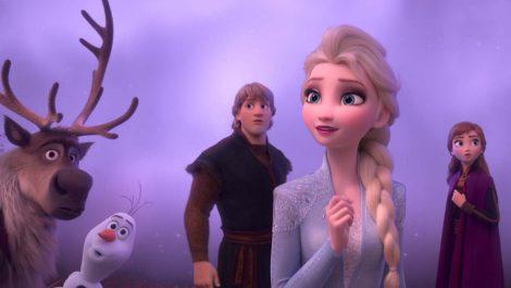 «Frozen 2» congela su puesto en la cima de la taquilla en EEUU y Canadá