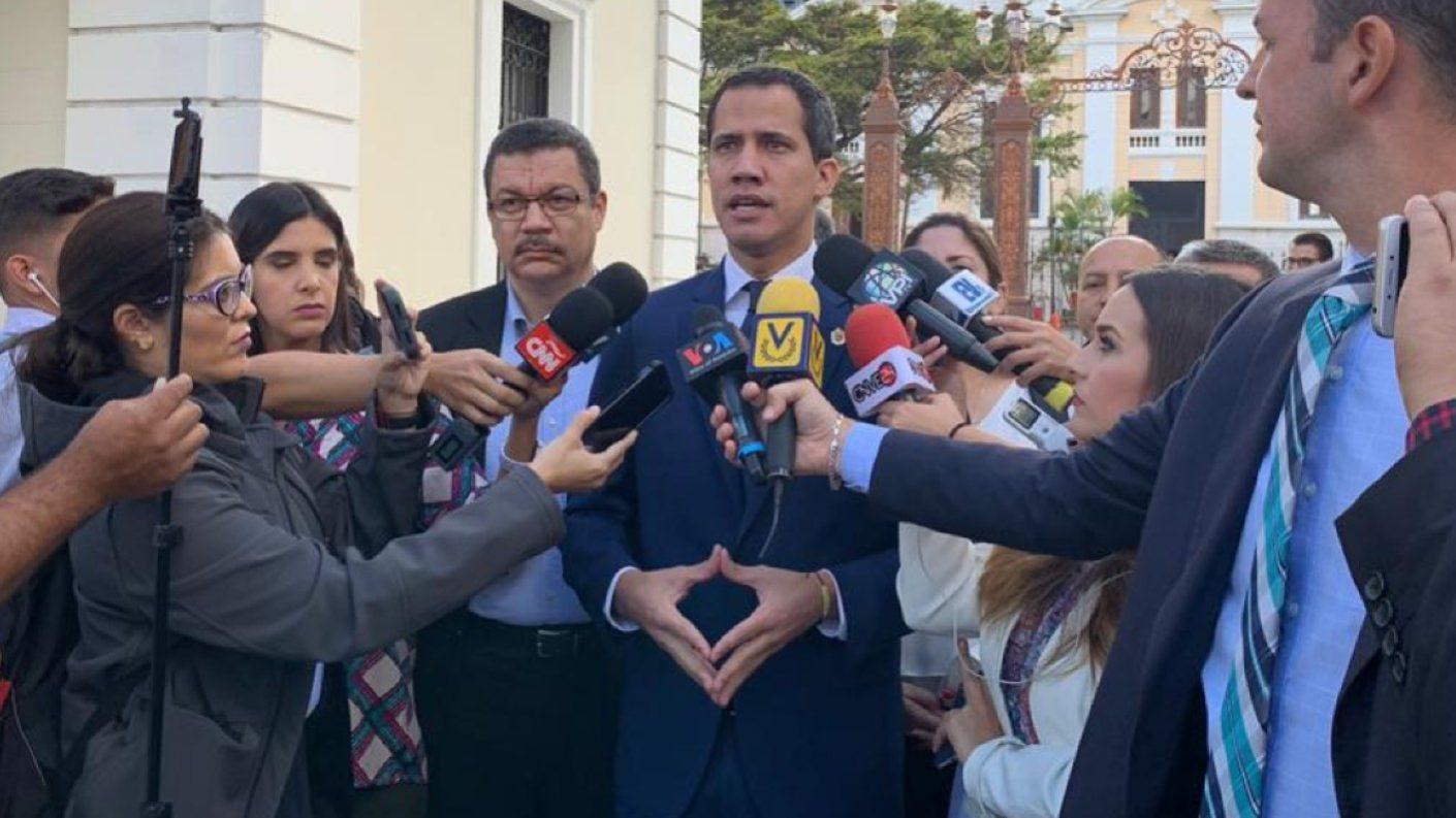 Guaidó llevará a cabo reuniones en diciembre con todos los sectores