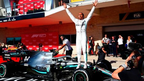 Hamilton conquistó su sexto campeonato mundial de Fórmula 1