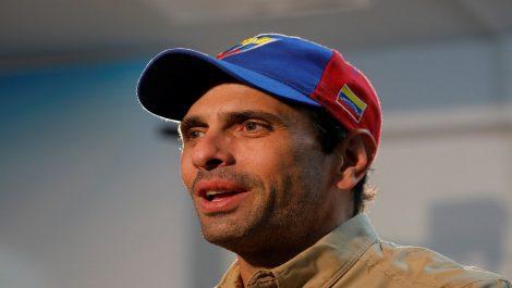 Henrique Capriles y Valeria Valle están en la dulce espera