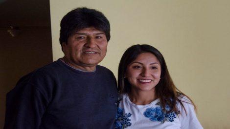 Cancillería de Bolivia autorizó un salvoconducto para la hija de Evo Morales