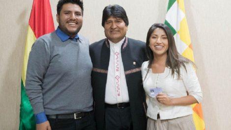 Hijos de Evo Morales abandonaron Bolivia para irse hacia Argentina