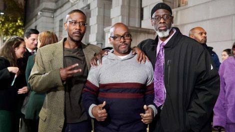 Liberan en EEUU a tres afroamericanos tras 36 años de prisión injusta