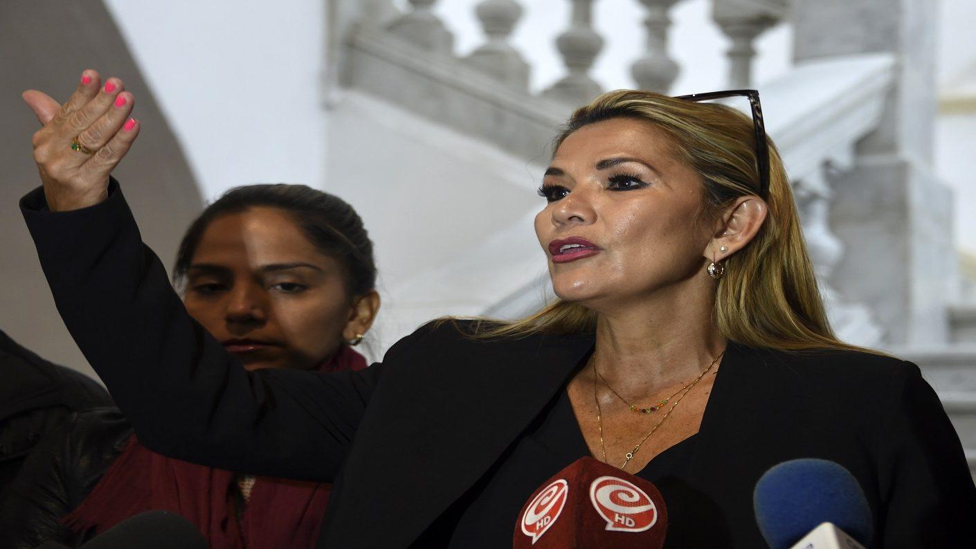 """Áñez sobre denuncia de Morales: """"tan falso como falsas fueron las elecciones"""""""