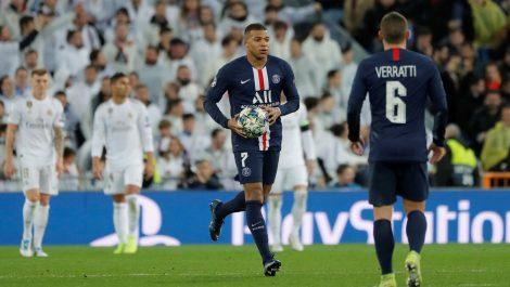 El Real Madrid no pudo mantener la ventaja ante el PSG para terminar en empate