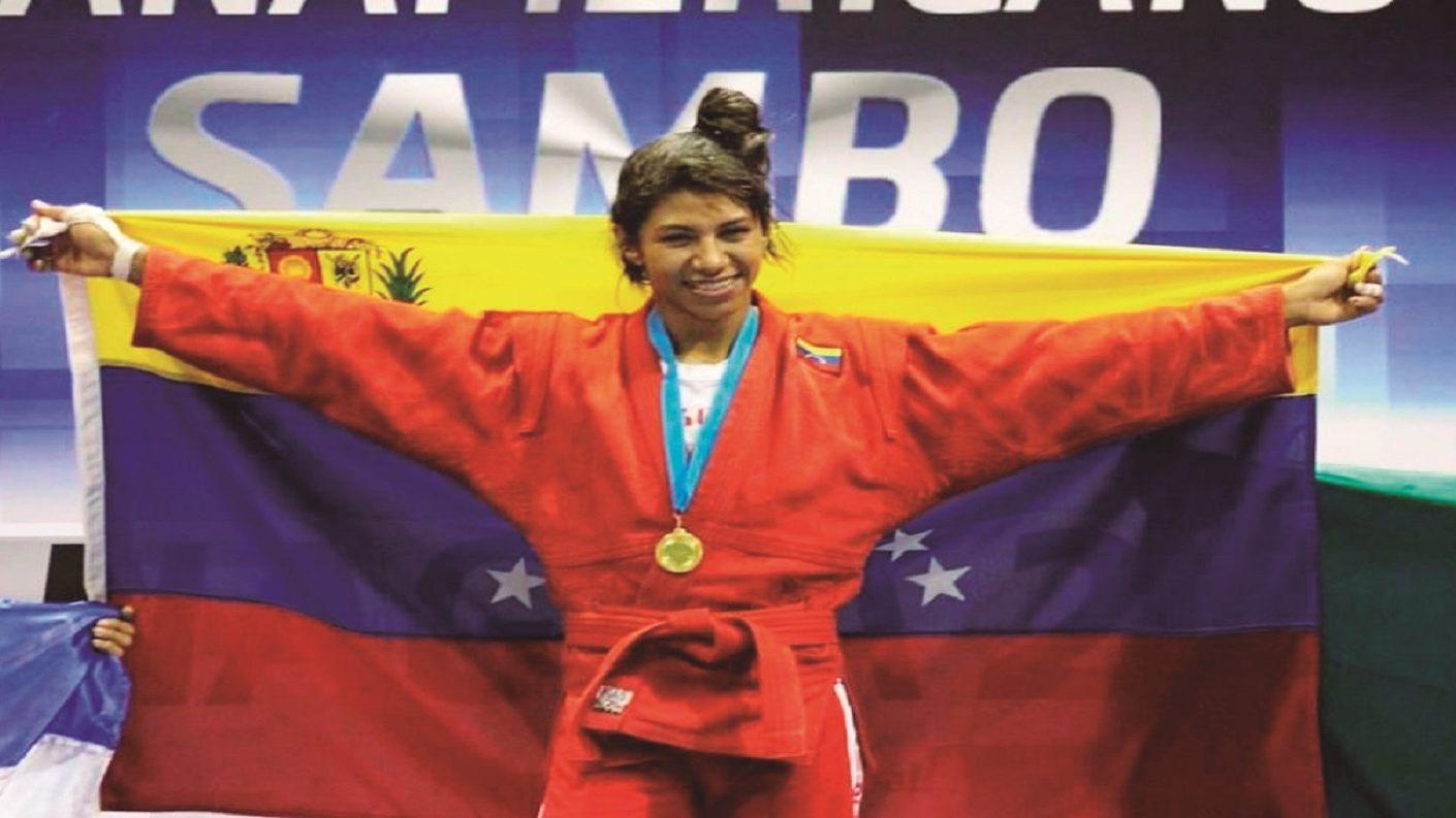 María Guédez se llevó el Bronce en el Mundial de Sambo
