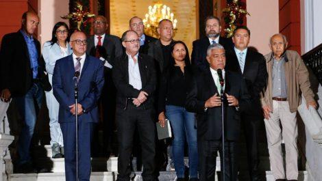 «Opositores» pedirán a Europa que se levanten las sanciones contra gobierno de Maduro
