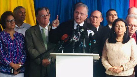 Soy Venezuela recomienda crear «consejo ejecutivo para el cese de la usurpación»