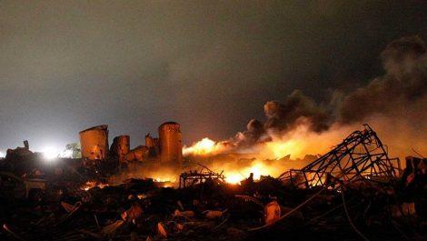 Explosión en una planta química deja al menos tres heridos en Texas