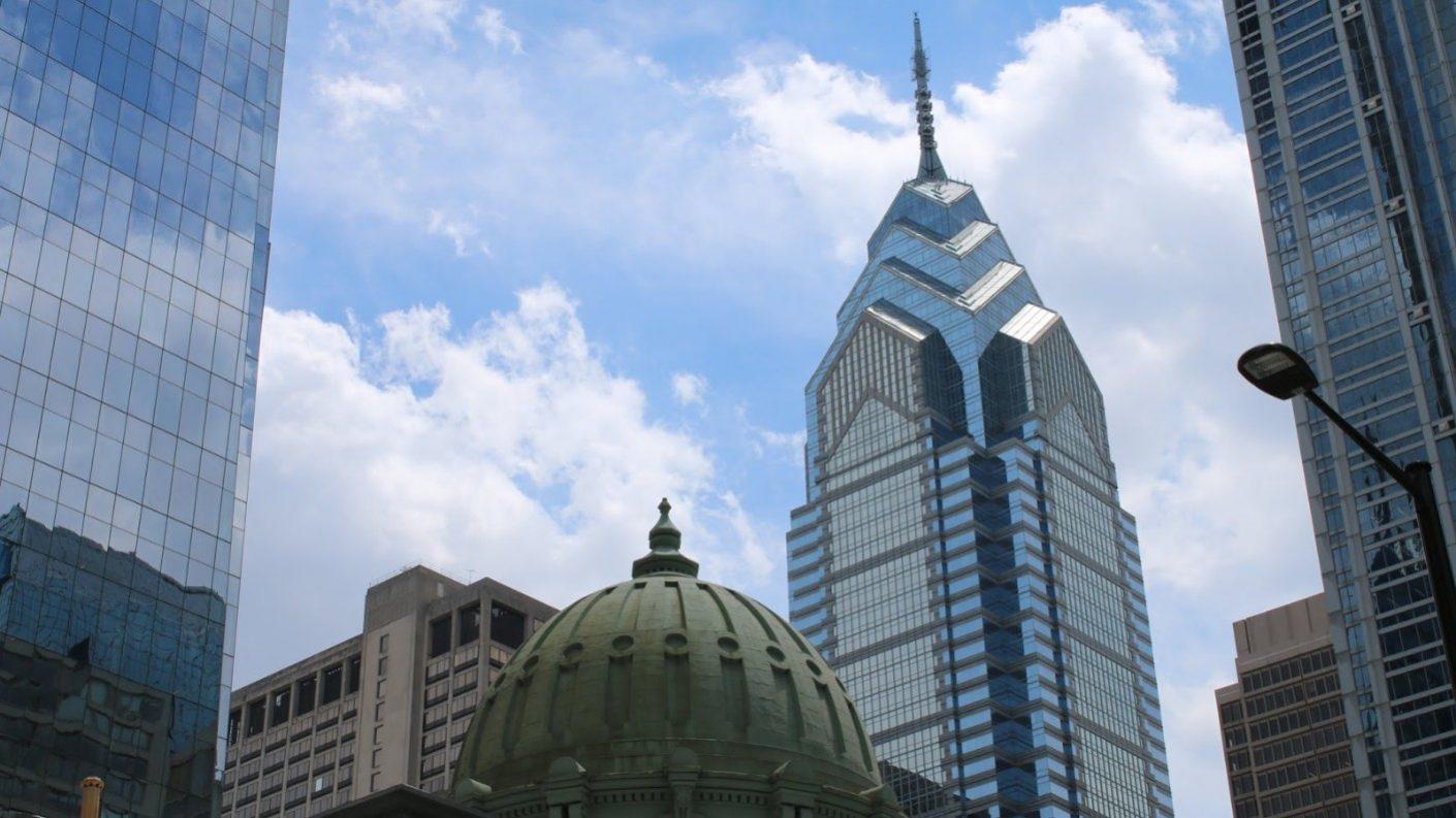 Rascacielos en Filadelfia «despertó» con una fuga de agua