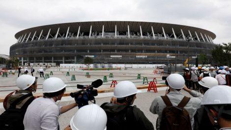 Está listo el principal estadio para los Juegos Olímpicos Tokio 2020