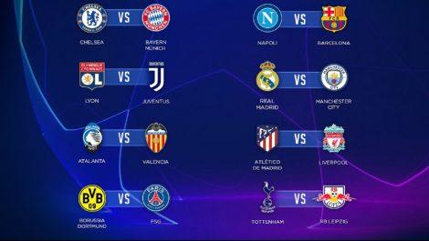 Conoce los cruces de los octavos de final de La Liga de Campeones